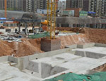 地基承台砖胎膜案例2